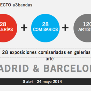 A3bandas fills with art the galleries of Madrid and Barcelona