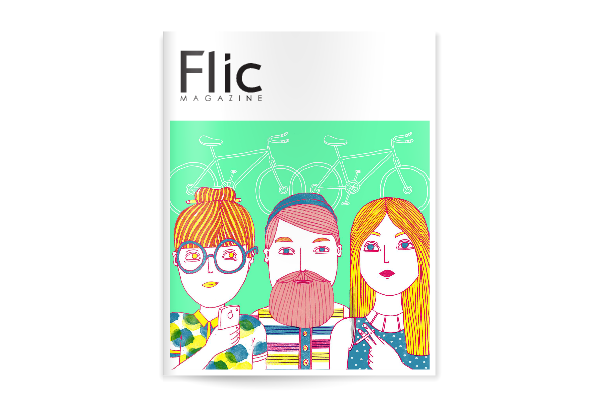 Flic Magazine Issue#7_Portada Issuu