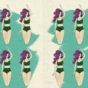 This month, Fernanda Galván is the illustrator of our website's pattern.